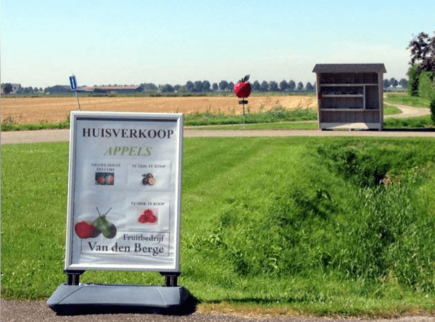 Fruitbedrijf Van den Berge_Verkoop van producten