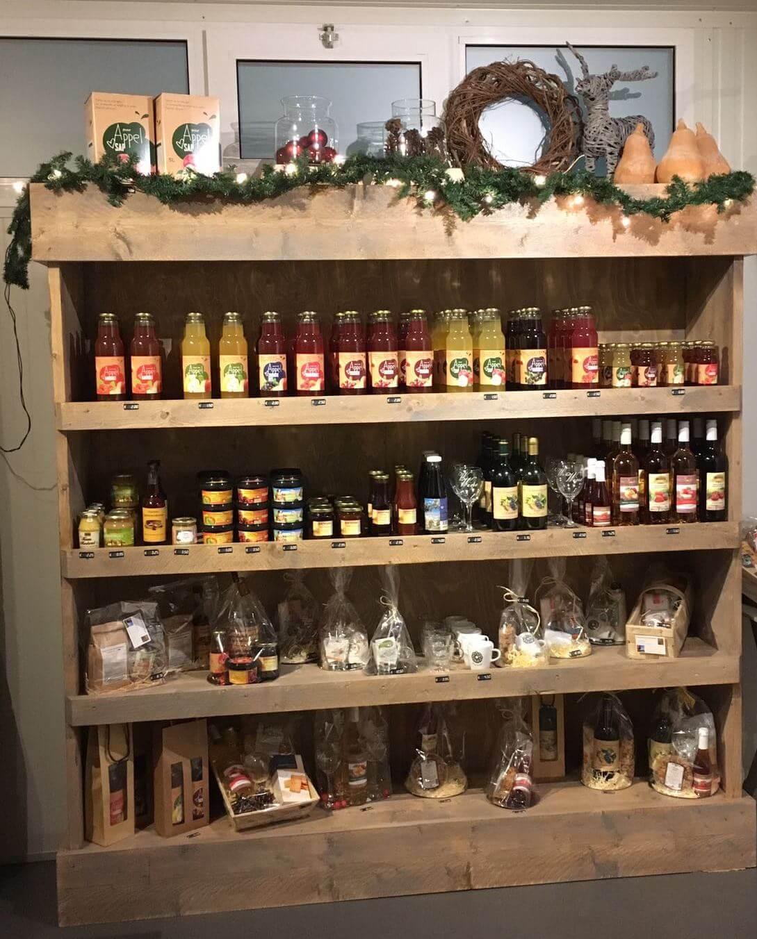 Fruitbedrijf Van den Berge_De Fruithoek_kast kerst