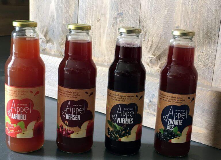 Fruitbedrijf Van den Berge: diverse sappen