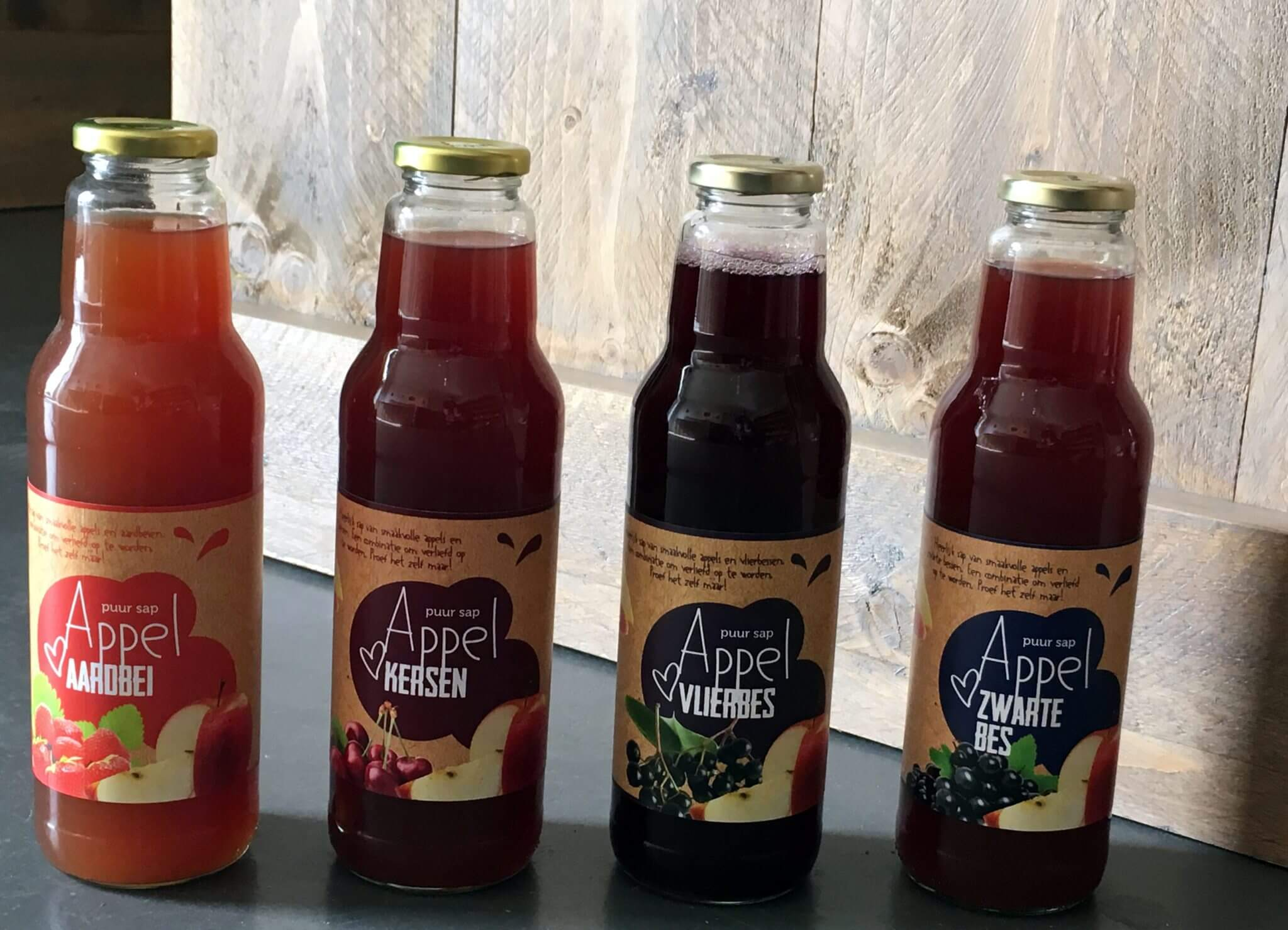 Fruitbedrijf Van den Berge_diverse sappen