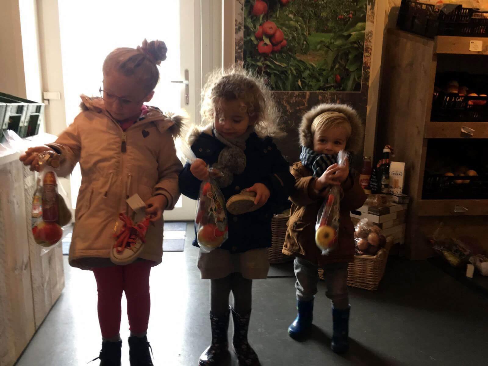 Fruitbedrijf Van den Berge_schoenen_Sinterklaas_1