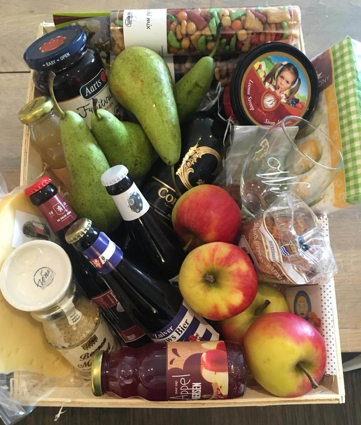 Fruitbedrijf Van den Berge_cadeaupakket_Fruitmand_1