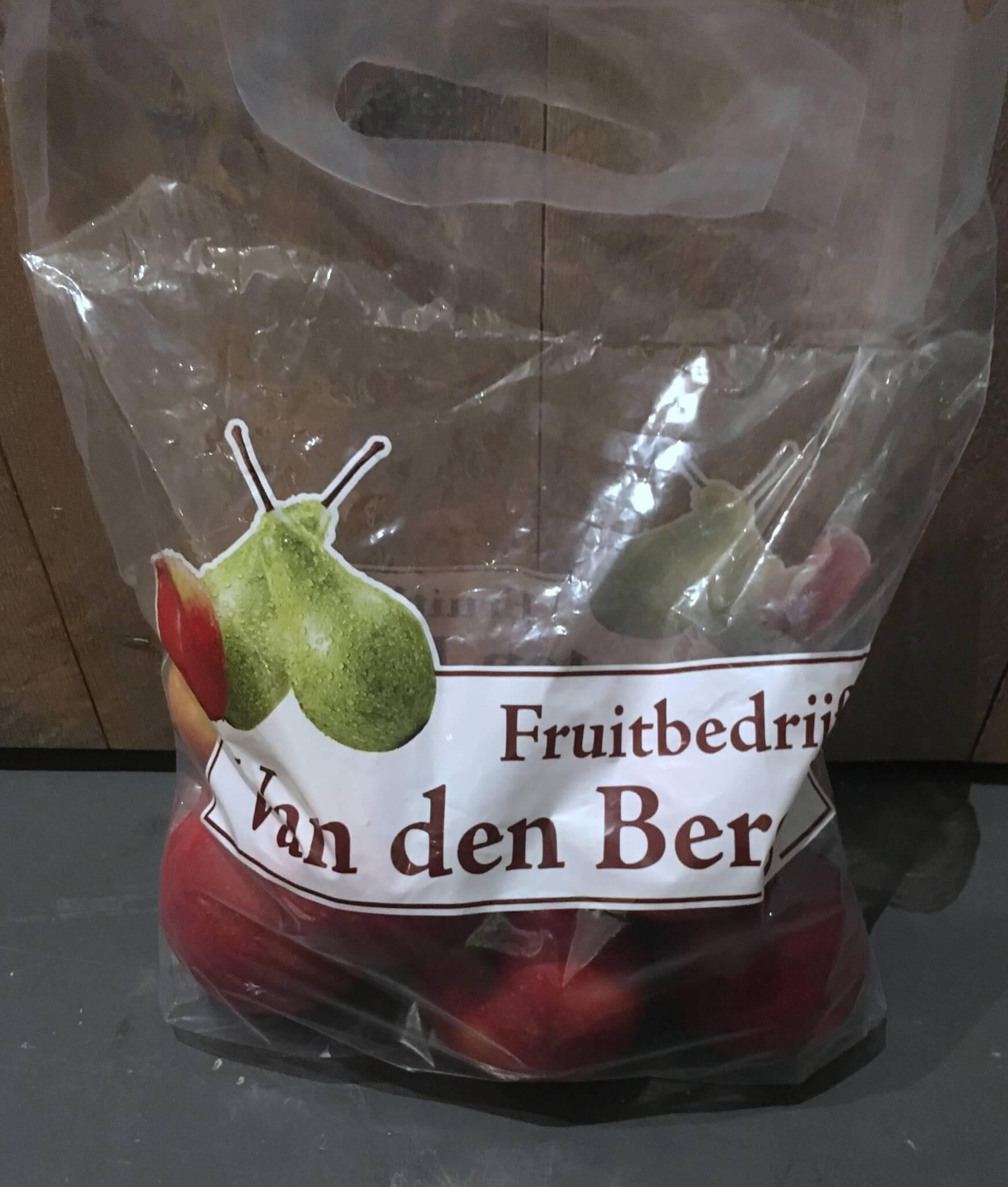 Fruitbedrijf Van den Berge: Jonaprince 2017 tasje