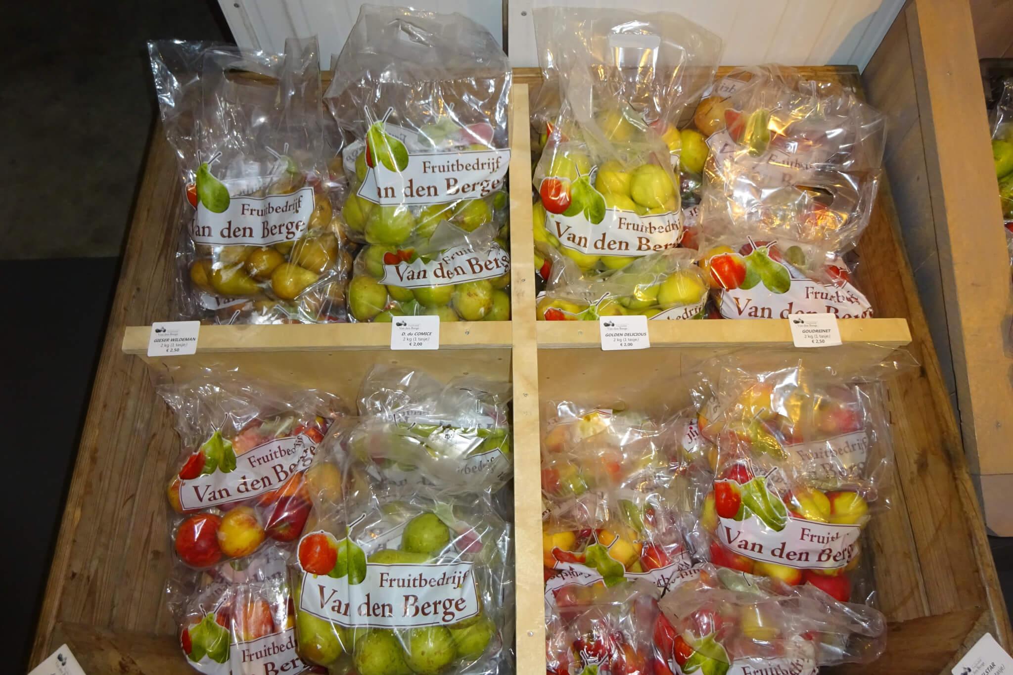 Fruitbedrijf Van den Berge: Fruit in voorraadkist