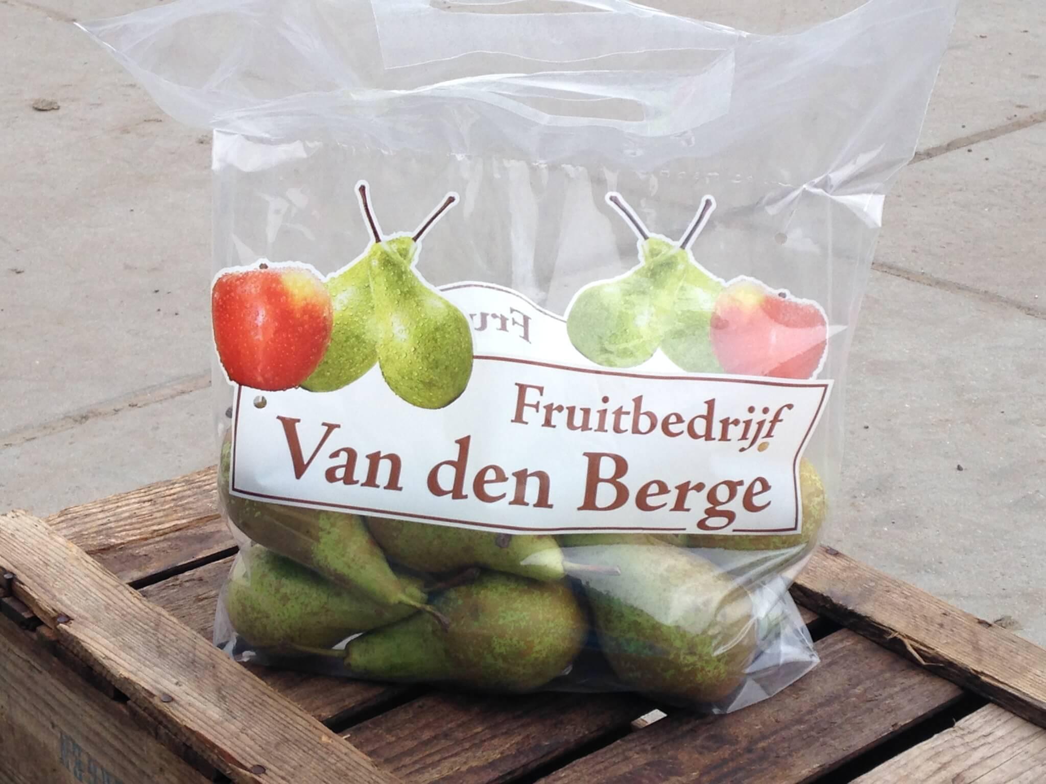 Fruitbedrijf van den Berge: tasje conference
