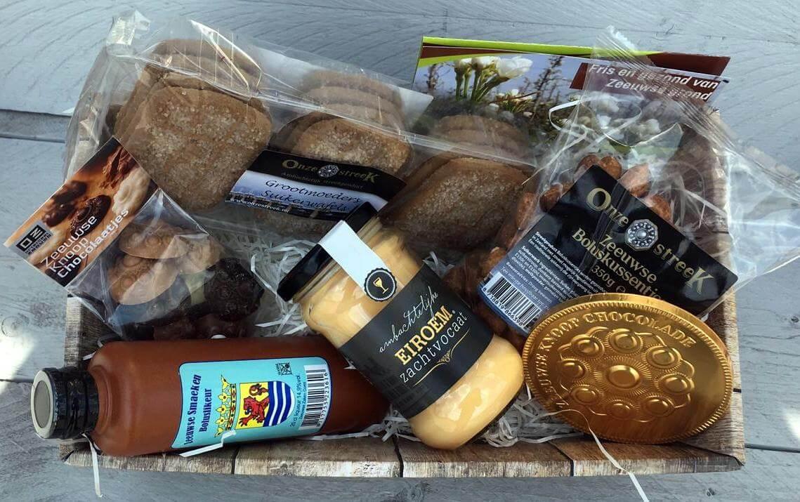 Fruitbedrijf Van den Berge: Pakket voor bij de koffie
