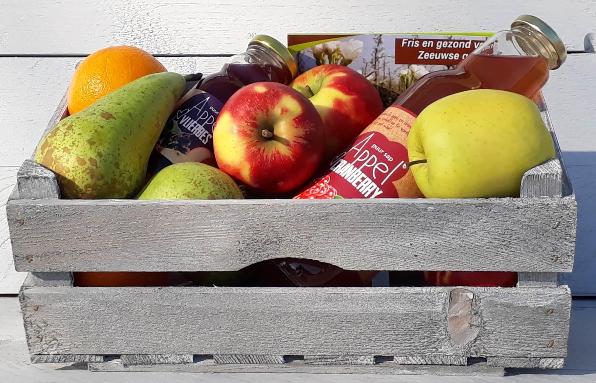Fruitbedrijf Van den Berge: Sap- en Fruitkistje