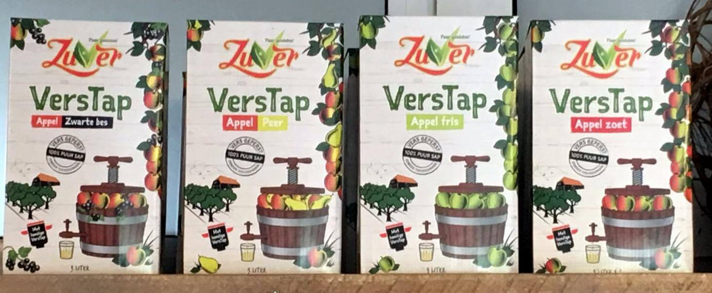 Fruitbedrijf Van den Berge: Zuver VersTap