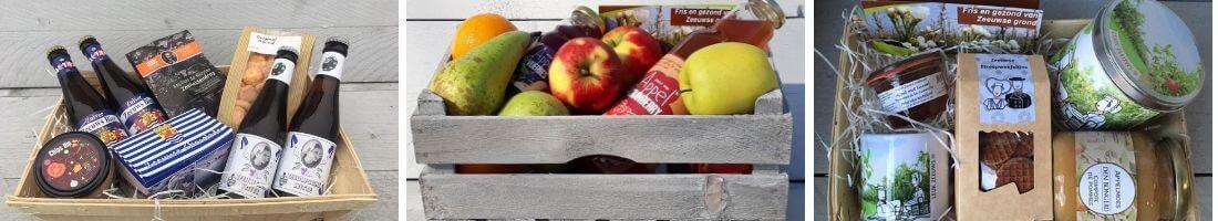 Fruitbedrijf Van den Berge: cadeaupakketten slider 1