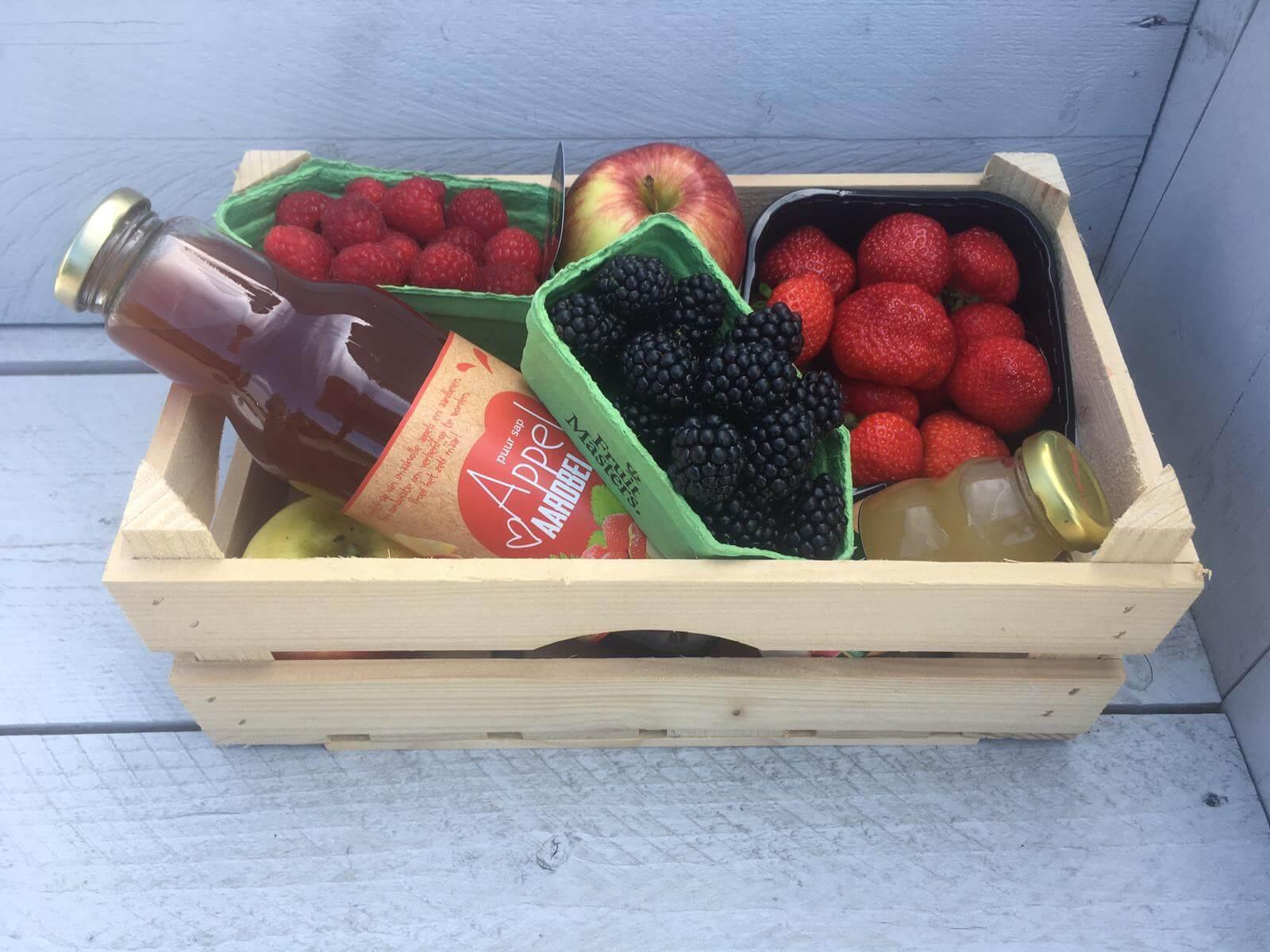 Fruitbedrijf Van den Berge: Fruitkistje met zomerfruit