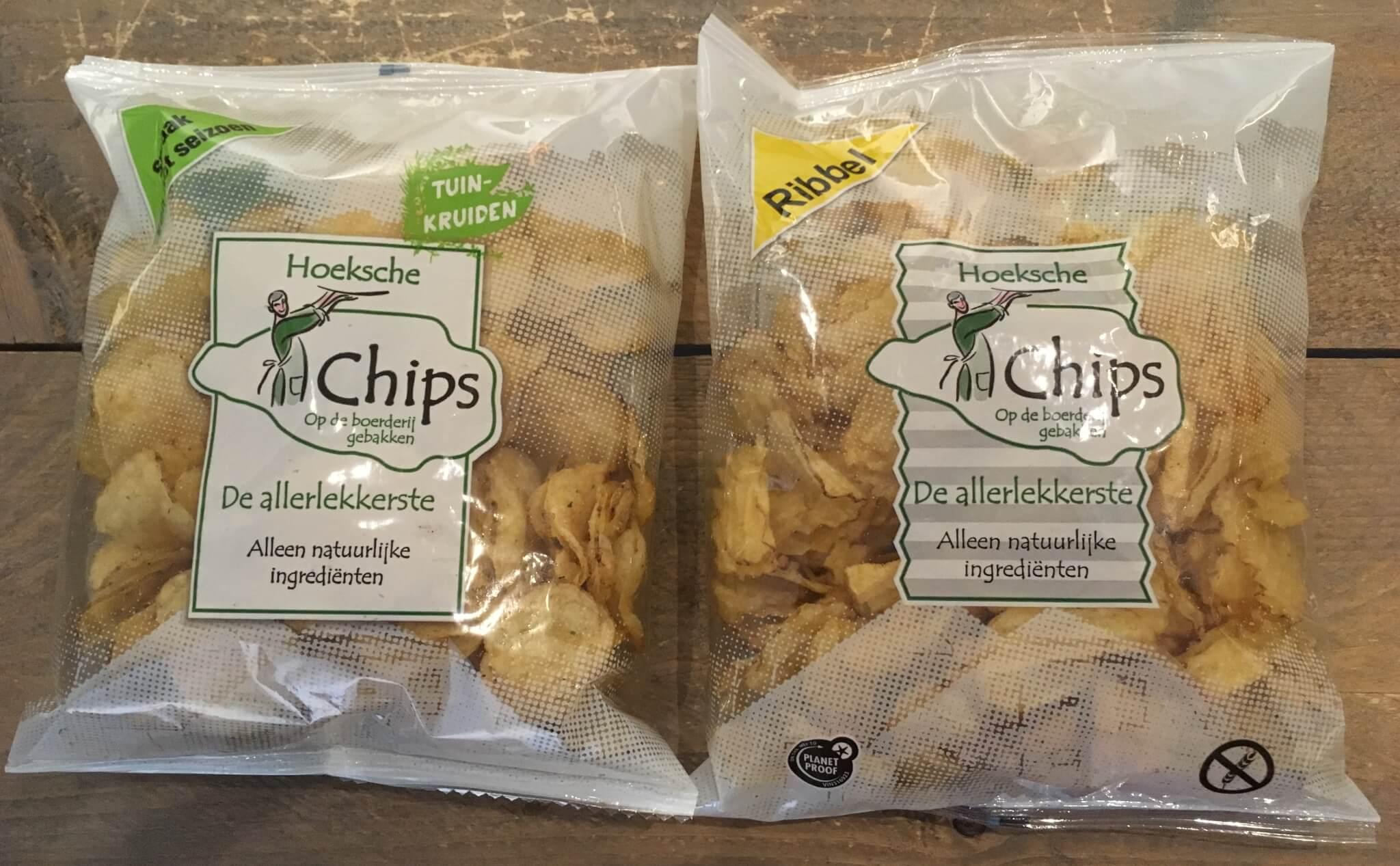 Fruitbedrijf Van den Berge: Hoeksche Chips Ribbel en Tuinkruiden