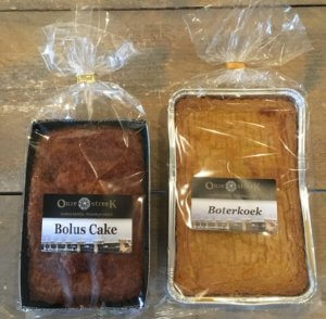 Fruitbedrijf Van den Berge: boterkoek en boluscake