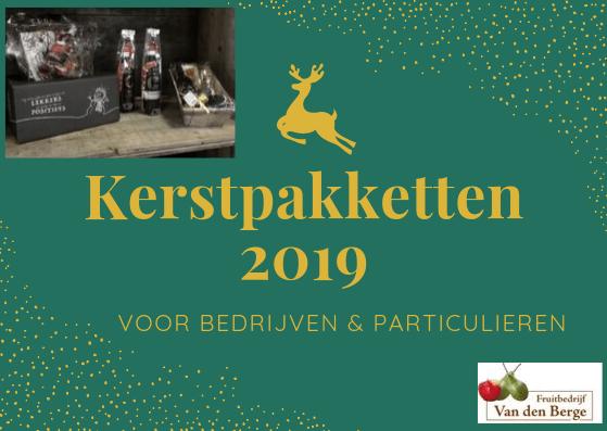 Fruitbedrijf Van den Berge: Kerstpakketten 2019 aankondiging