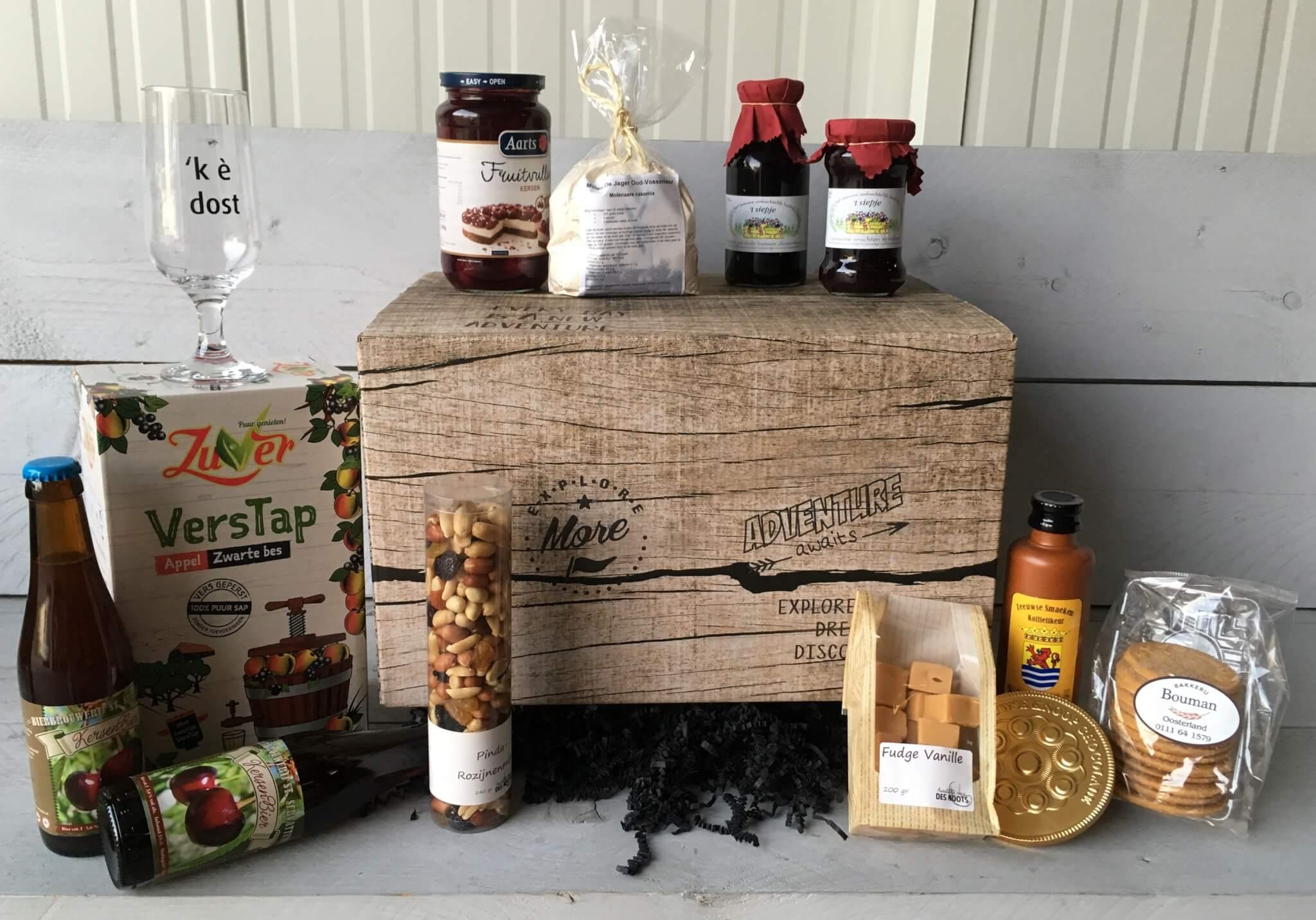 Fruitbedrijf Van den Berge: familiepakket