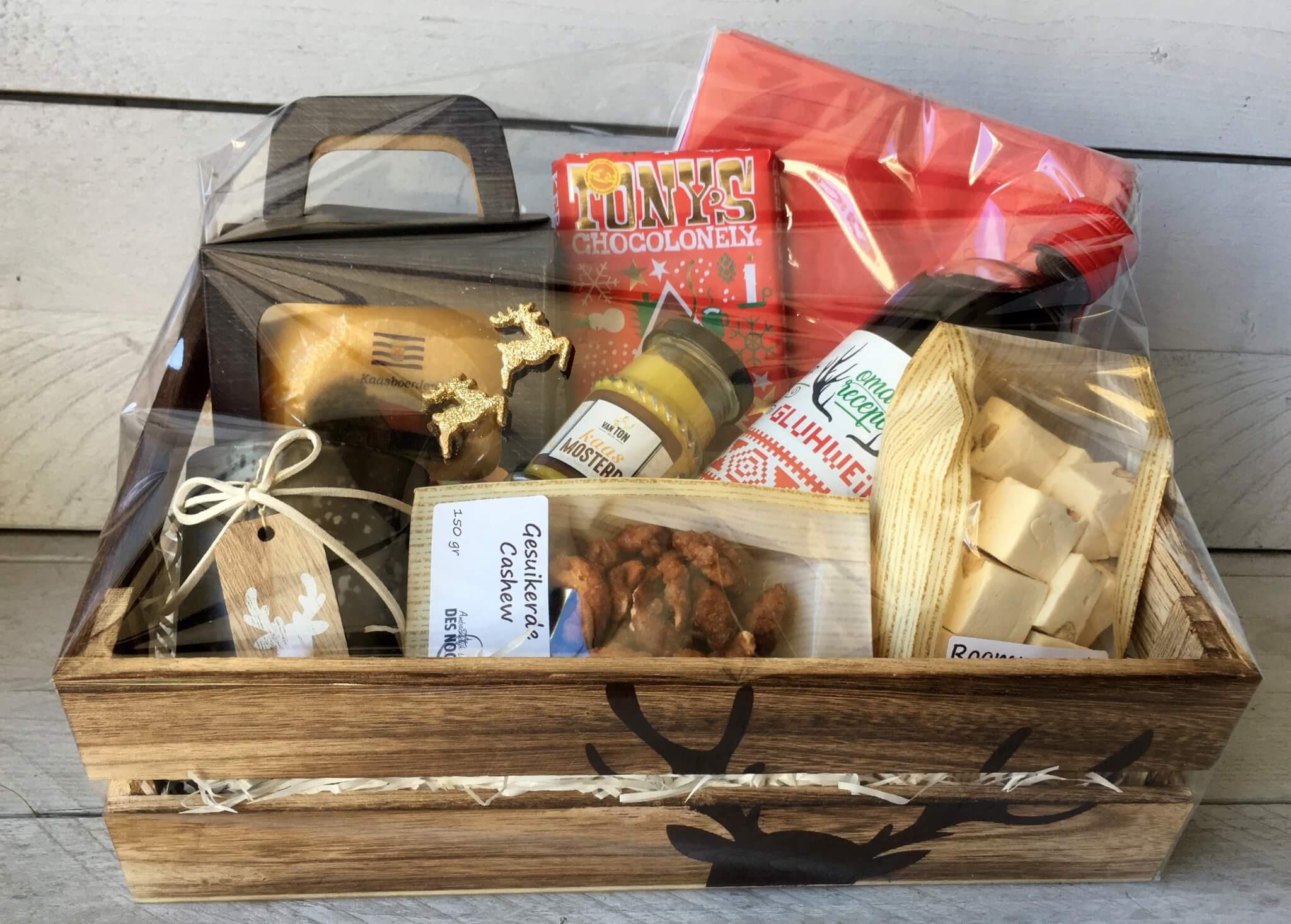 Fruitbedrijf Van den Berge kerstpakket rendier