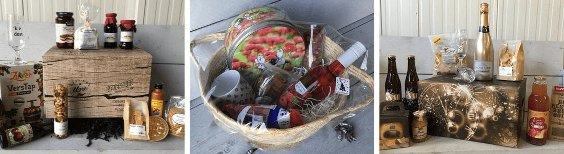 Fruitbedrijf Van den Berge: kerstpakketten overzicht 2