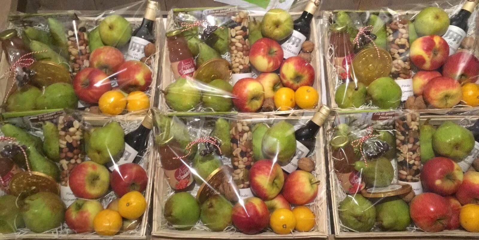 Fruitbedrijf Van den Berge Cadeaupakket met fruit 24