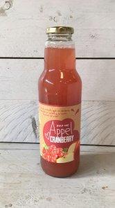 Fruitbedrijf Van den Berge: appel-cranberrysap