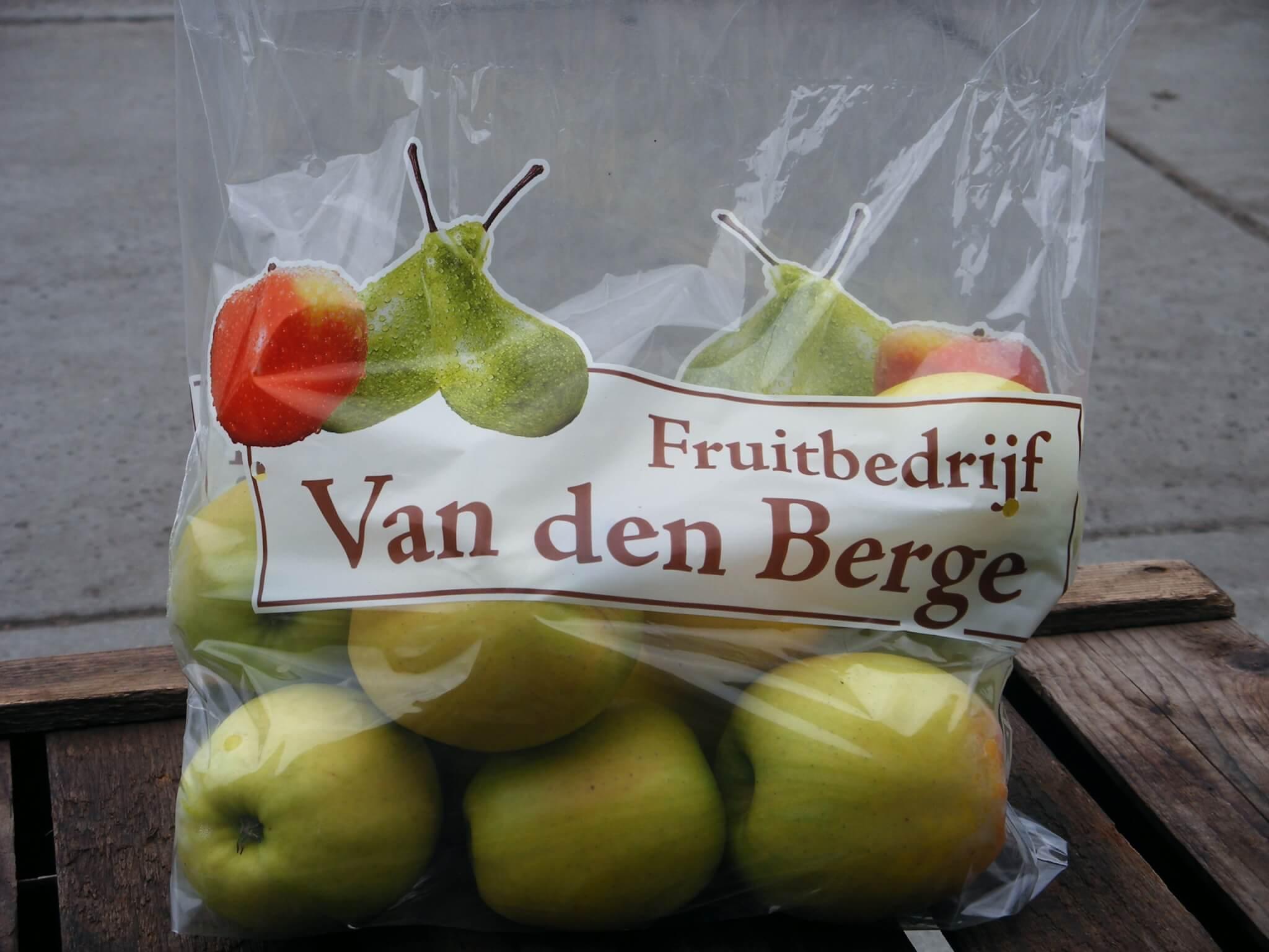 Fruitbedrijf Van den Berge: Golden Delicious tasje