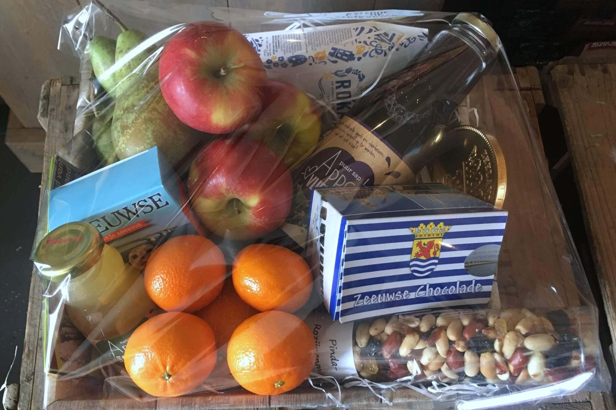 Fruitbedrijf Van den Berge: cadeaupakket Fruitmand 4