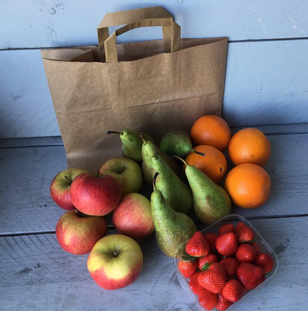 Fruitbedrijf Van den Berge tas: gemengd fruit