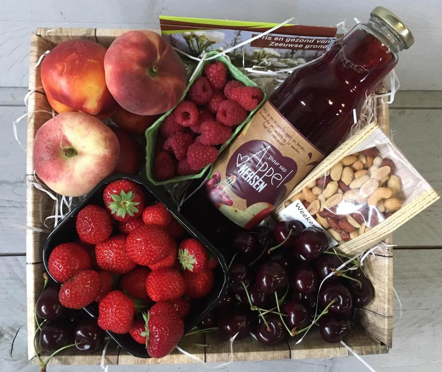 Fruitbedrijf Van den Berge-zomerfruitmand