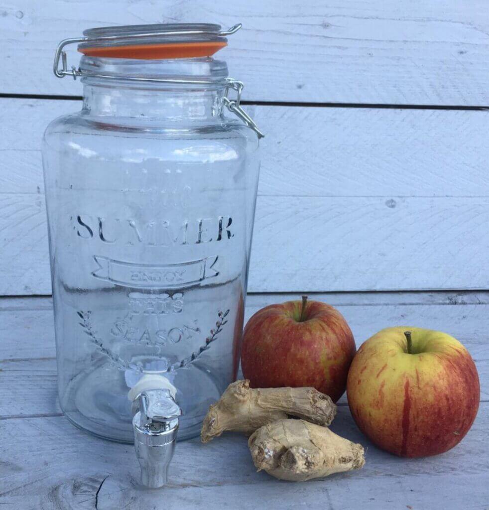 Fruitbedrijf Van den Berge: appel-wortel smoothie
