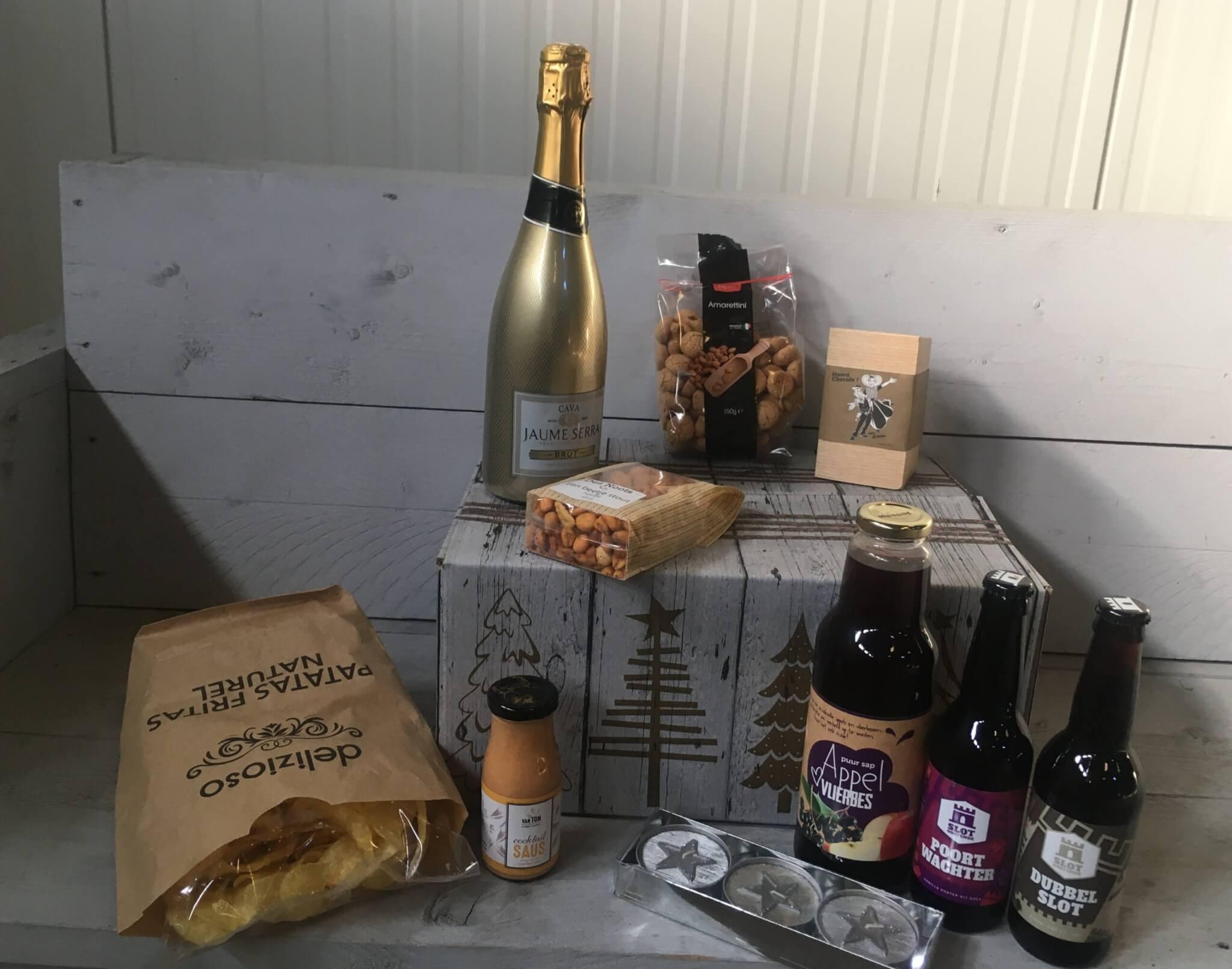 Fruitbedrijf Van den Berge: Kerstpakketten 2020 Lekkers