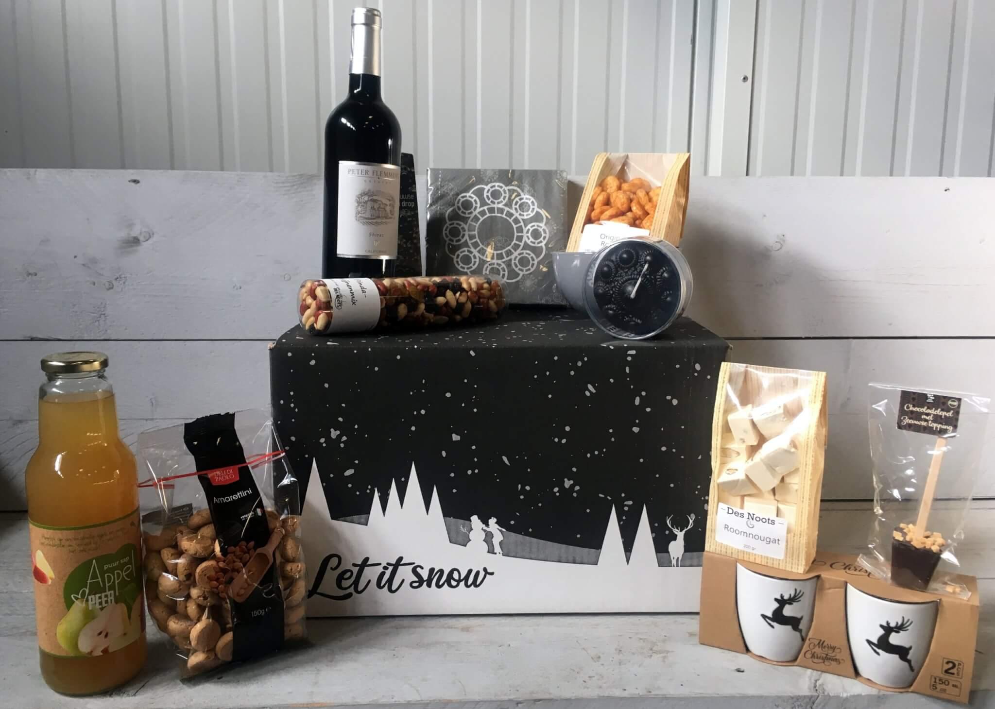 Fruitbedrijf Van den Berge: Kerstpakketten 2020 Let it snow