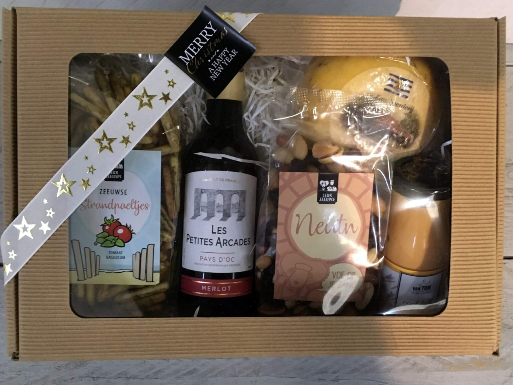 Fruitbedrijf Van den Berge: Kerstpakketten 2020 Wijn en meer