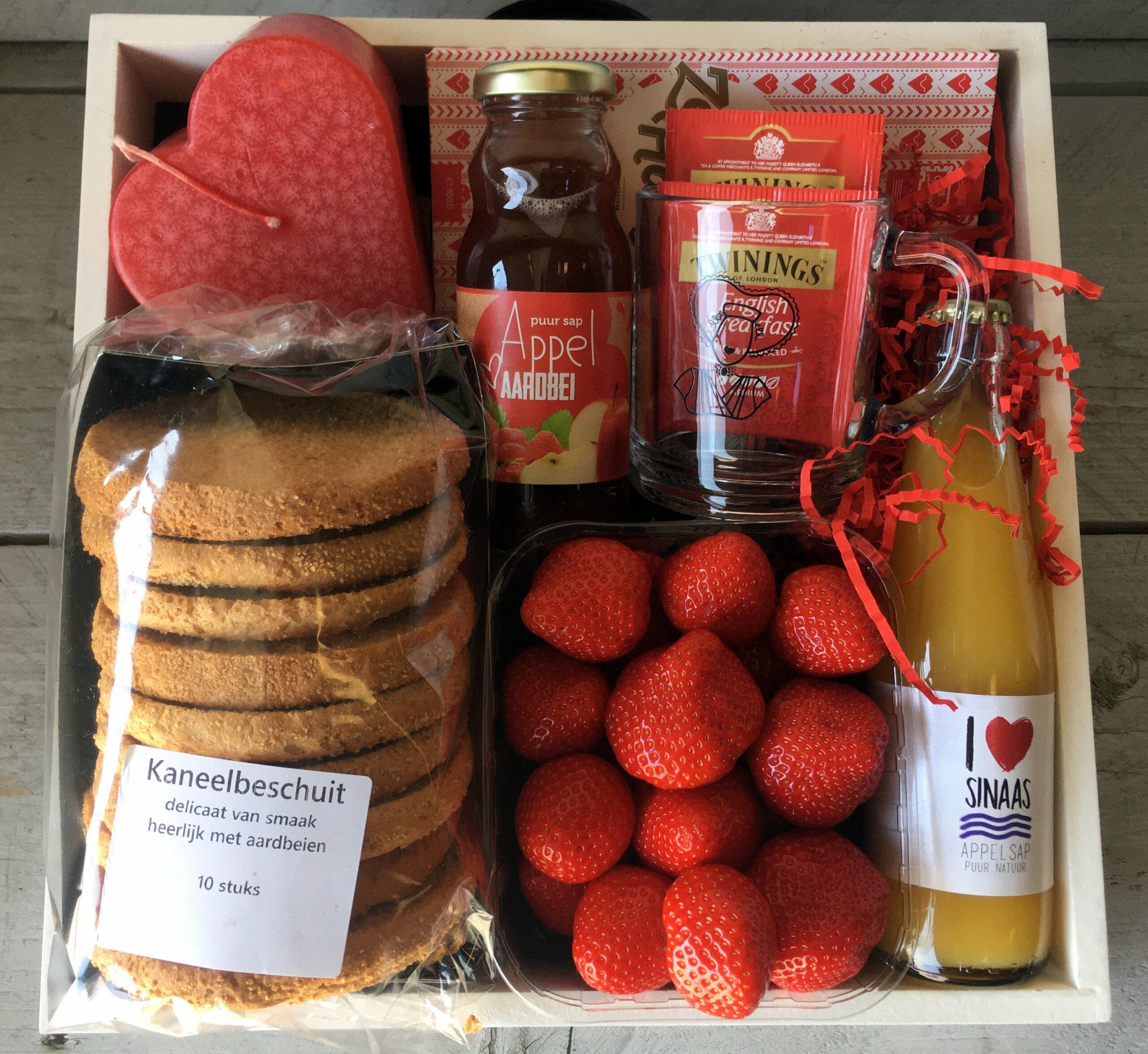 Fruitbedrijf Van den Berge: Moederdag-ontbijtje