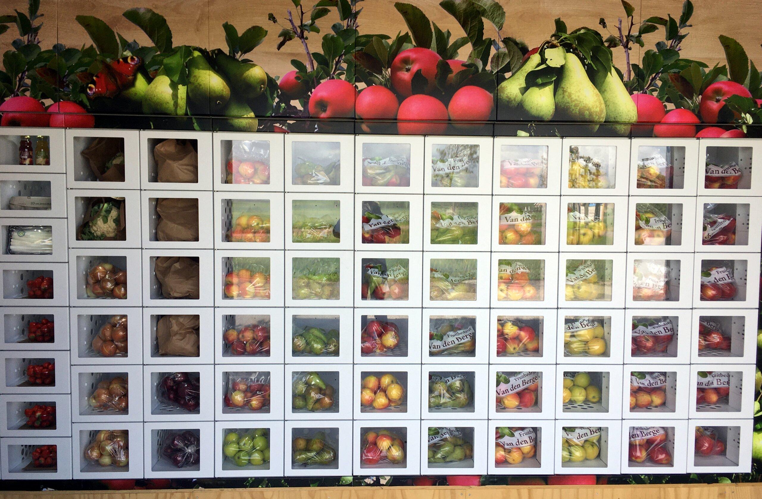 Fruitbedrijf Van den Berge Boerderijautomaat